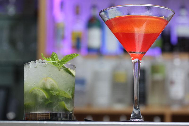 Cocktails at Banjo