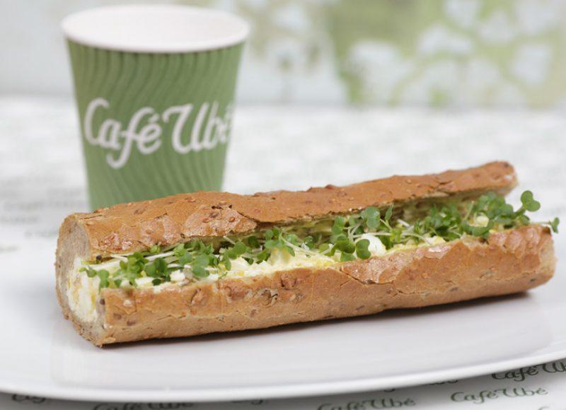 Café Ubé Egg Mayonnaise Baguette