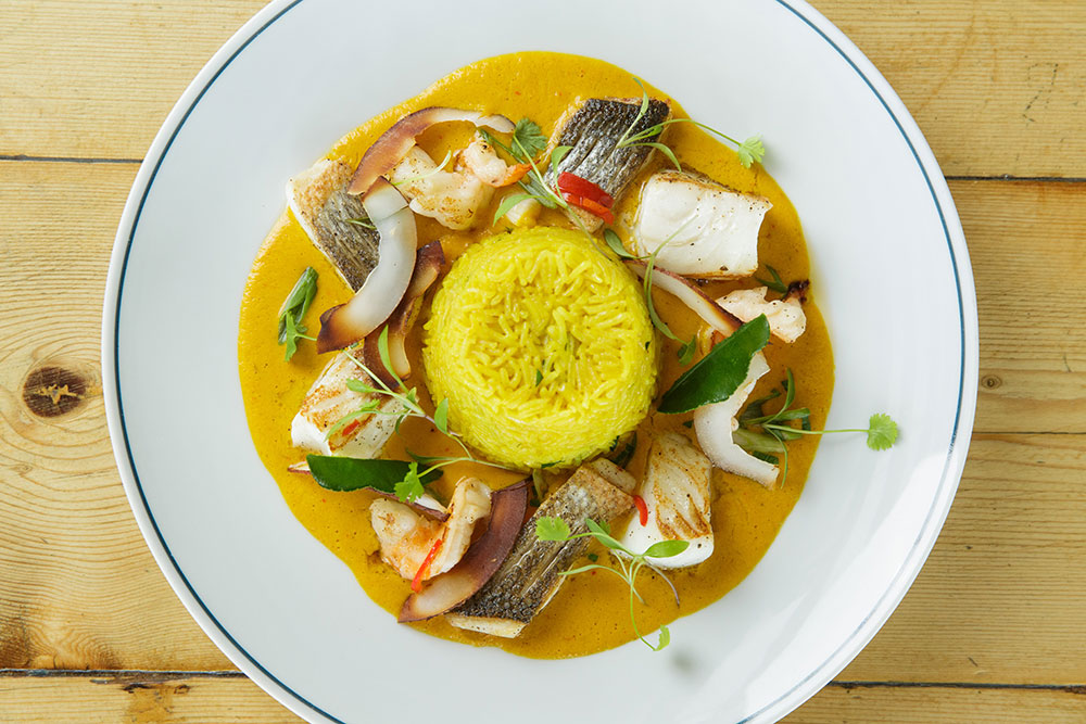 Jersey Crab Shack Seafood Curry