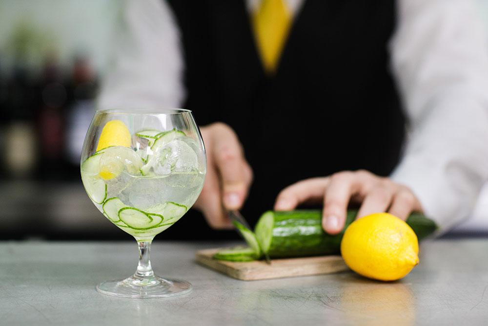 Hendrick's Haven Gin Cocktail at Banjo Jersey
