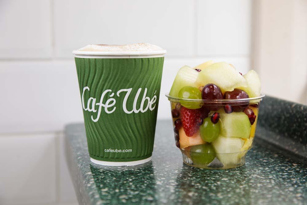 Tropical Fruit Pot - Café Ubé Jersey