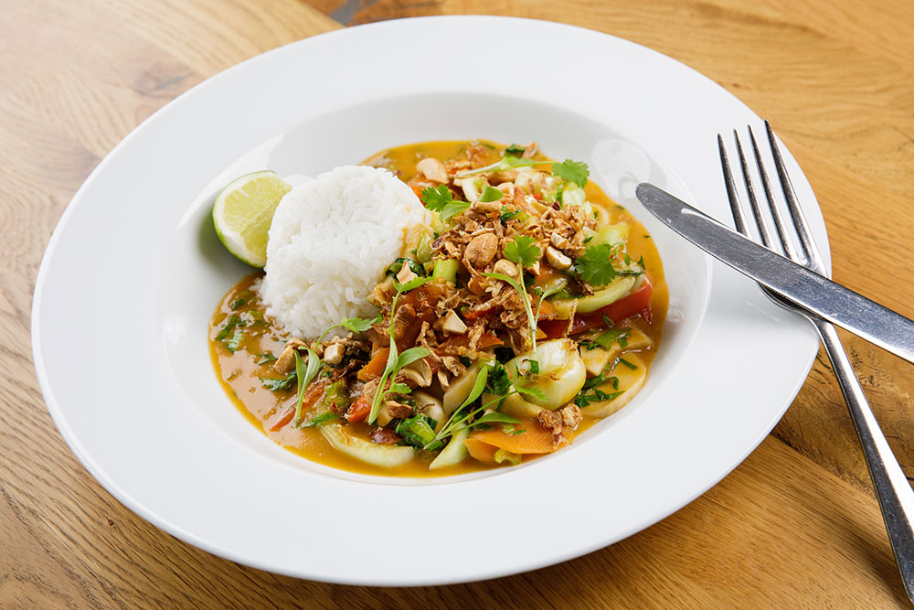 Oyster Box Thai Vegetable Curry