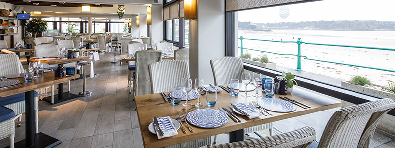 Eating out in St. Brelade, Jersey