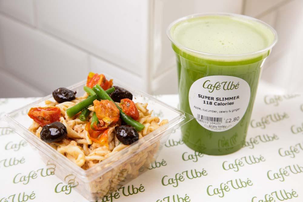 Tuna Pasta Salad - Café Ubé Jersey