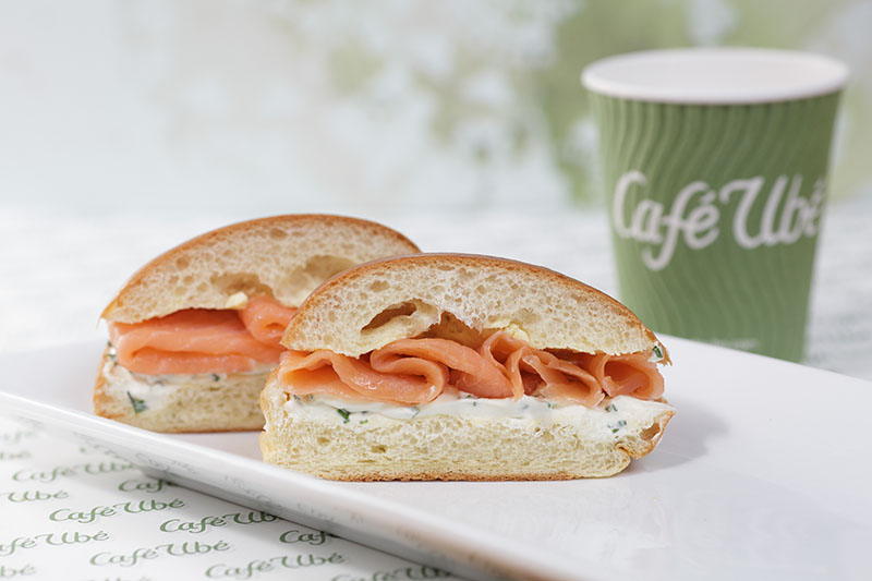 Café Ubé Smoked Salmon Cream Cheese