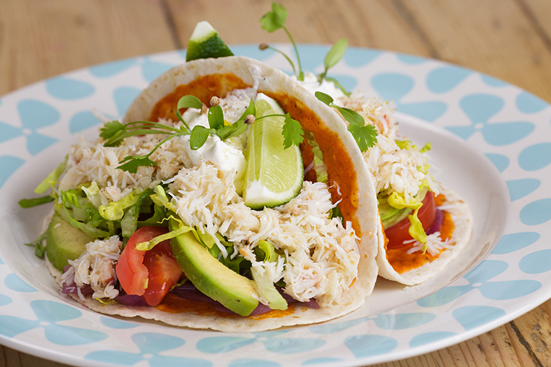 Jersey Crab Shack Crab Tacos