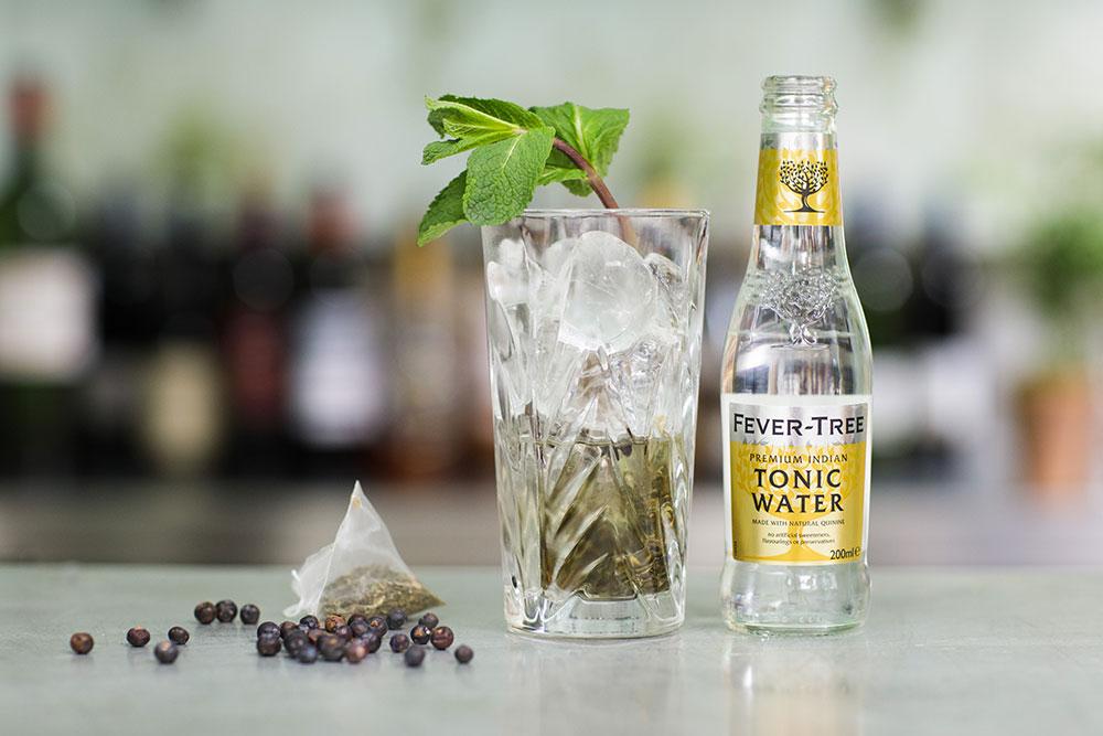 Bombay Botanical Gin Cocktail at Banjo Jersey