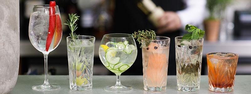 Banjo Jersey Gin Cocktails