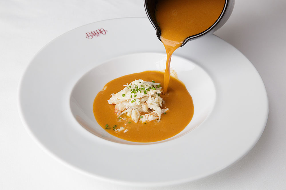Banjo Jersey Crab & Lobster Bisque