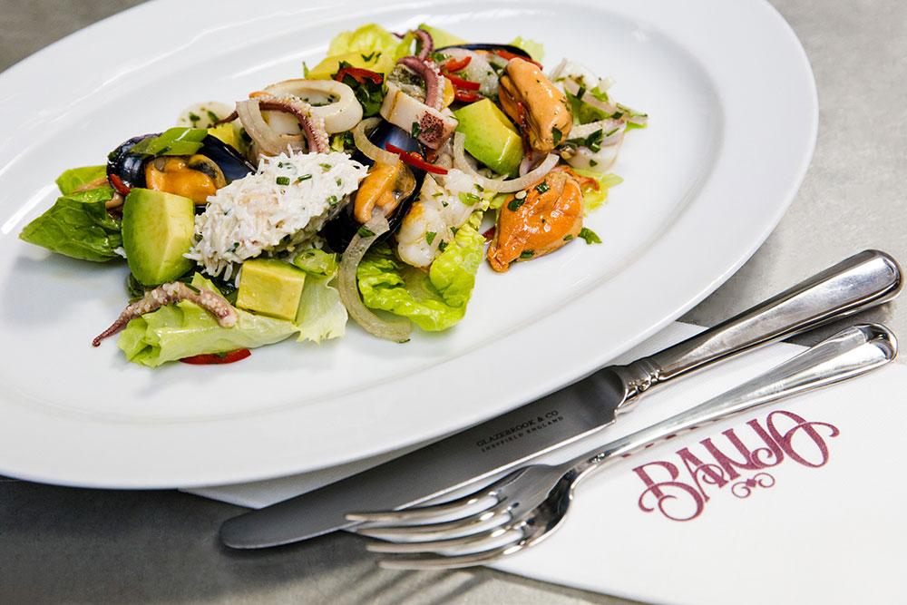 Banjo Jersey Seafood Salad