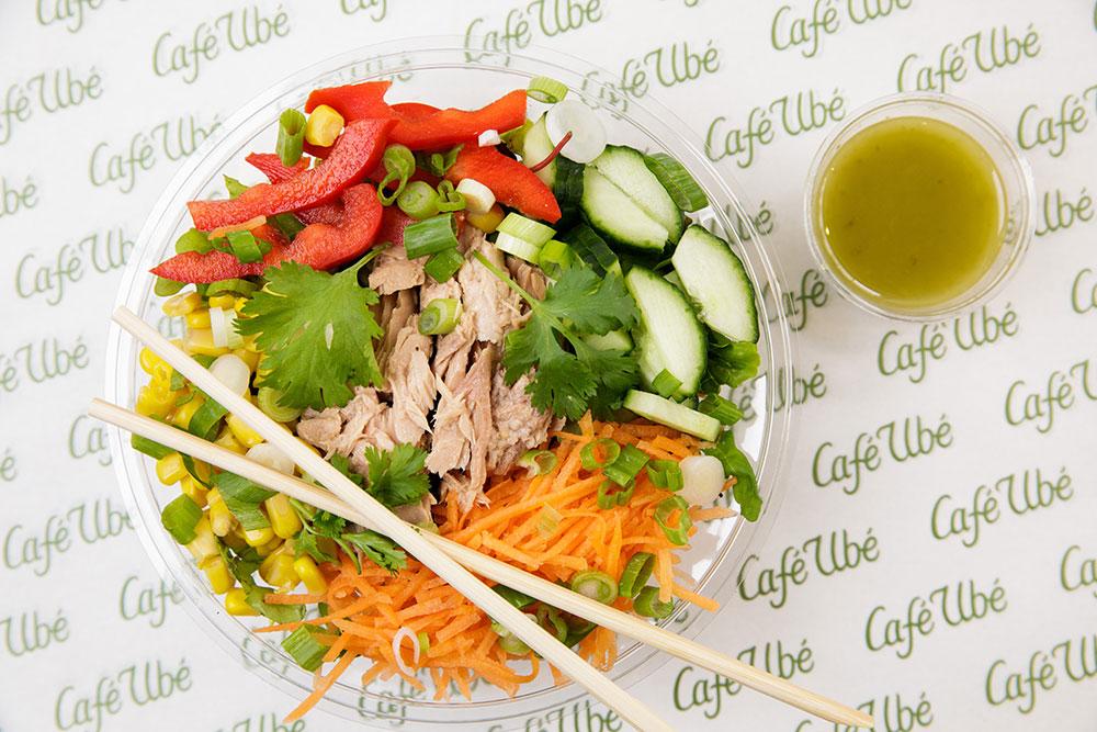 Café Ubé Thai Salad with Tuna