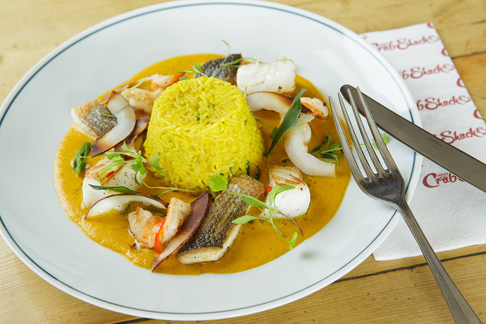 Jersey Crab Shack Indonesian Seafood Curry