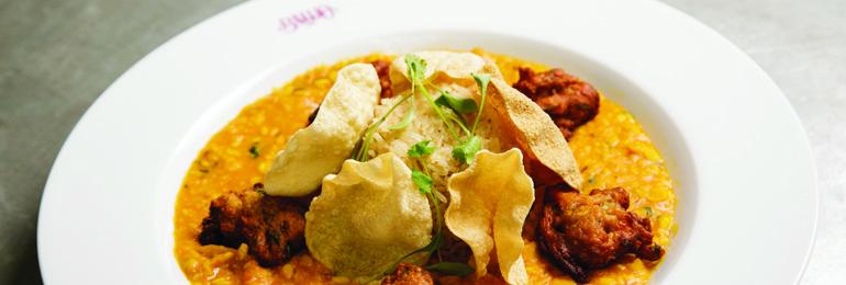 Banjo vegan Indian lentil curry