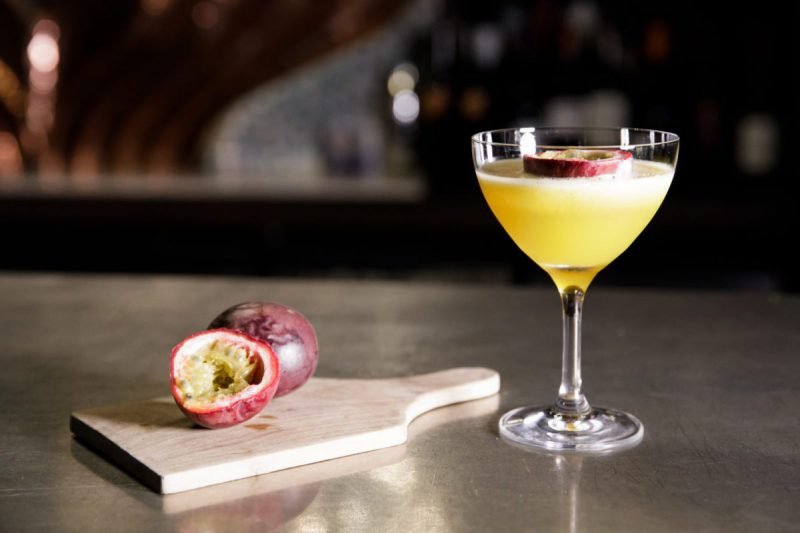 Banjo Passion Fruit Martini
