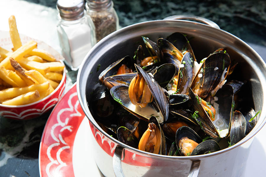 Jersey Crab Shack Moules