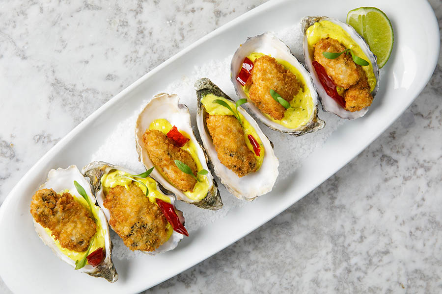 Banjo Curry Oysters