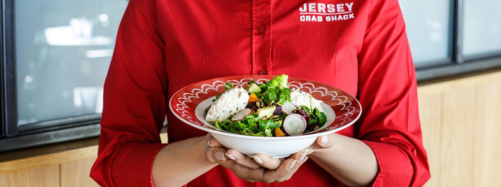 Jersey Crab Shack Salad Service